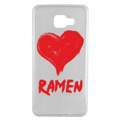 Чохол для Samsung A7 2016 Love ramen