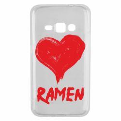 Чохол для Samsung J1 2016 Love ramen