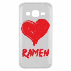 Чохол для Samsung J2 2015 Love ramen