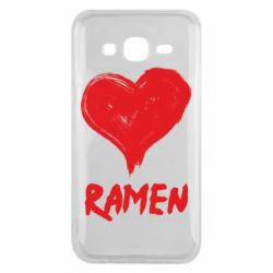 Чохол для Samsung J5 2015 Love ramen
