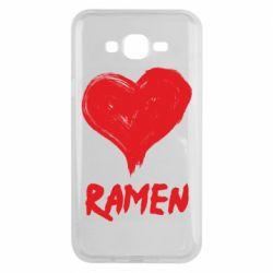 Чохол для Samsung J7 2015 Love ramen