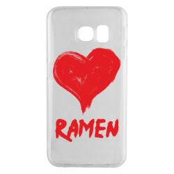Чохол для Samsung S6 EDGE Love ramen