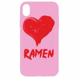 Чохол для iPhone XR Love ramen
