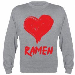 Реглан (світшот) Love ramen