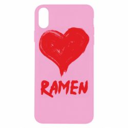 Чохол для iPhone Xs Max Love ramen