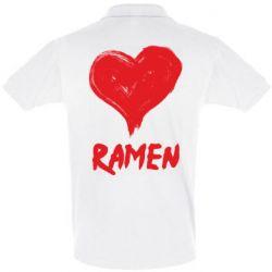 Футболка Поло Love ramen