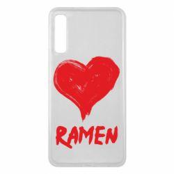 Чохол для Samsung A7 2018 Love ramen