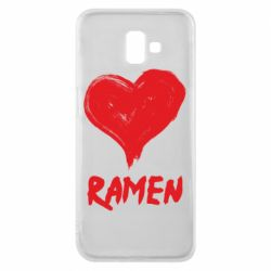 Чохол для Samsung J6 Plus 2018 Love ramen