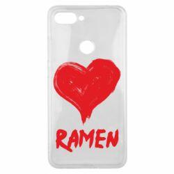 Чохол для Xiaomi Mi8 Lite Love ramen