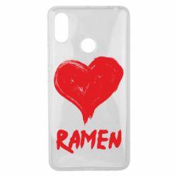 Чохол для Xiaomi Mi Max 3 Love ramen