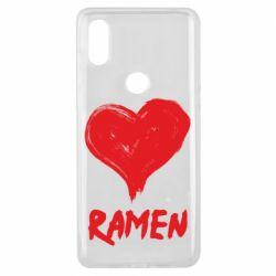 Чохол для Xiaomi Mi Mix 3 Love ramen