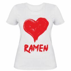 Жіноча футболка Love ramen