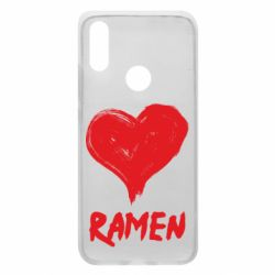 Чехол для Xiaomi Redmi 7 Love ramen