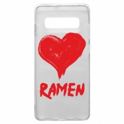 Чохол для Samsung S10+ Love ramen
