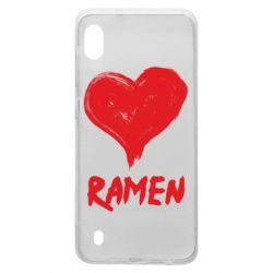 Чохол для Samsung A10 Love ramen