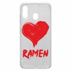 Чохол для Samsung A30 Love ramen