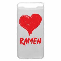 Чохол для Samsung A80 Love ramen