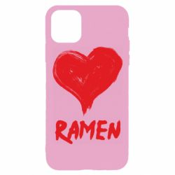Чохол для iPhone 11 Pro Love ramen