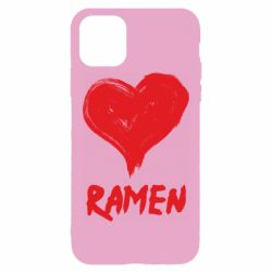 Чохол для iPhone 11 Pro Max Love ramen