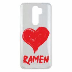 Чохол для Xiaomi Redmi Note 8 Pro Love ramen