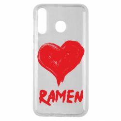 Чохол для Samsung M30 Love ramen