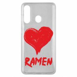 Чохол для Samsung M40 Love ramen