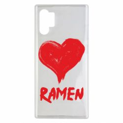 Чохол для Samsung Note 10 Plus Love ramen