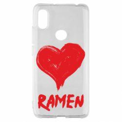 Чохол для Xiaomi Redmi S2 Love ramen