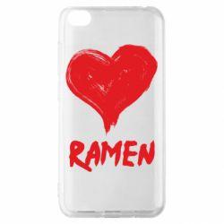 Чохол для Xiaomi Redmi Go Love ramen
