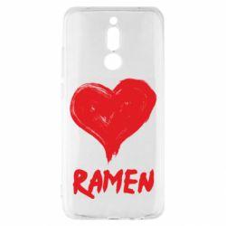 Чехол для Xiaomi Redmi 8 Love ramen