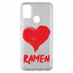 Чохол для Samsung M30s Love ramen