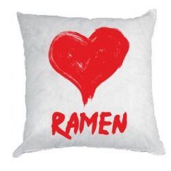 Подушка Love ramen