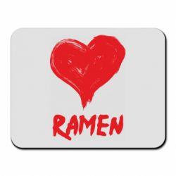 Килимок для миші Love ramen