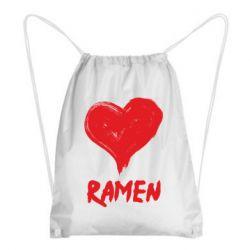 Рюкзак-мішок Love ramen