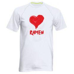 Чоловіча спортивна футболка Love ramen