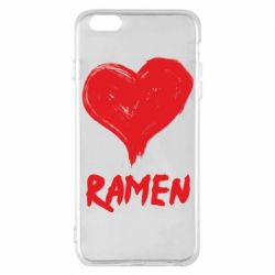 Чохол для iPhone 6 Plus/6S Plus Love ramen