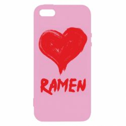 Чохол для iphone 5/5S/SE Love ramen