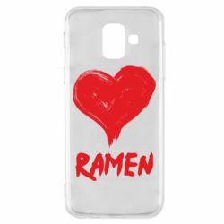 Чохол для Samsung A6 2018 Love ramen