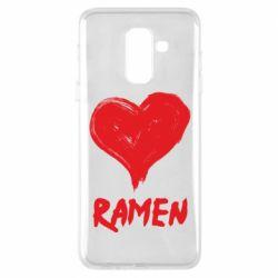 Чохол для Samsung A6+ 2018 Love ramen
