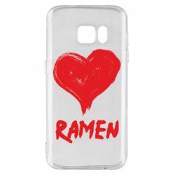 Чохол для Samsung S7 Love ramen