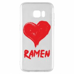 Чохол для Samsung S7 EDGE Love ramen