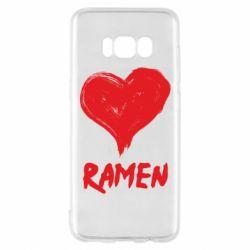 Чохол для Samsung S8 Love ramen