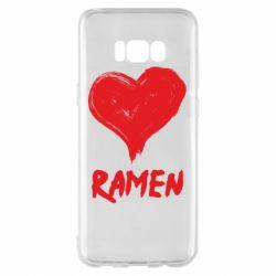 Чохол для Samsung S8+ Love ramen