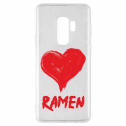 Чохол для Samsung S9+ Love ramen