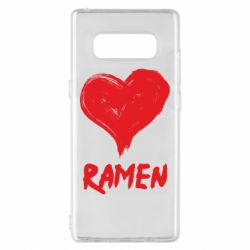 Чохол для Samsung Note 8 Love ramen