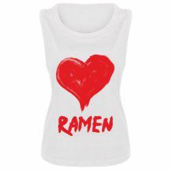 Майка жіноча Love ramen