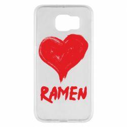 Чохол для Samsung S6 Love ramen