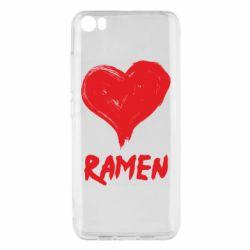 Чохол для Xiaomi Mi5/Mi5 Pro Love ramen