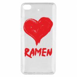 Чохол для Xiaomi Mi 5s Love ramen