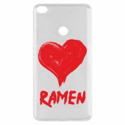 Чохол для Xiaomi Mi Max 2 Love ramen